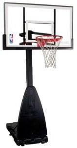 Spalding NBA Portable Basketball System - 54 Glass Backboard